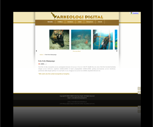 Galeri Foto Arkeologi Digital
