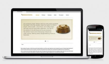 Web Design Arkeologi Digital by Irdiansyah