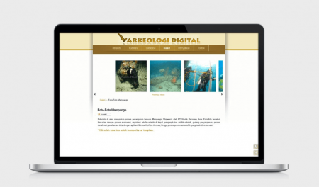 Web Design Arkeologi Digital by Irdiansyah