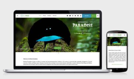 EcoNusa Foundation Web Development by Irdiansyah