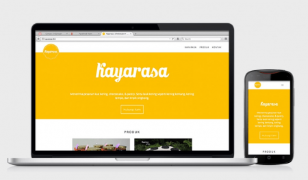 Web Design Kayarasa by Irdiansyah