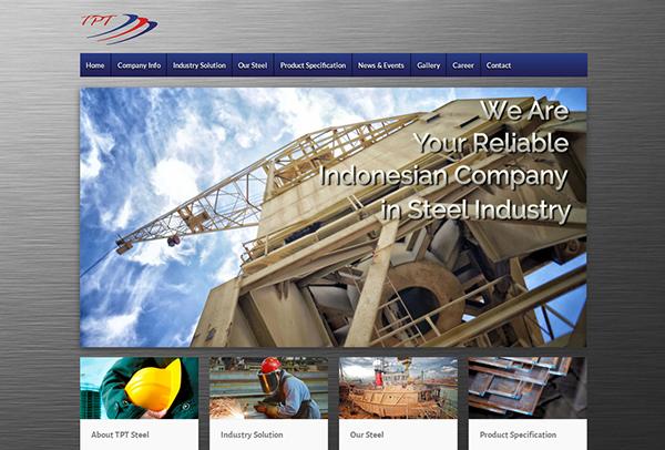 Web Design Tunas Perkasa Tekindo by Irdiansyah